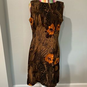 Dress Barn Women's Size 4 Sleeveless Dress